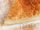 Рецепта Галактобурико - гръцки сиропиран десерт - сладкиш с бутер тесто и грис